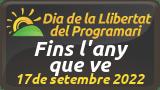 Celebra amb nosaltres el Dia de la Llibertat del Programari els dies 18 (la Palma de Cervelló) i 19 de setembre (Barcelona)